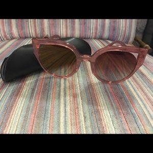 Diff Rose Gold Sunglasses